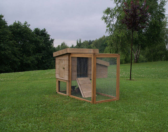 Gallinero Technical Pet Mini Slavo madera