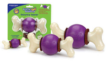 Bouncy Bone Busy Buddy premier mordedor com bola