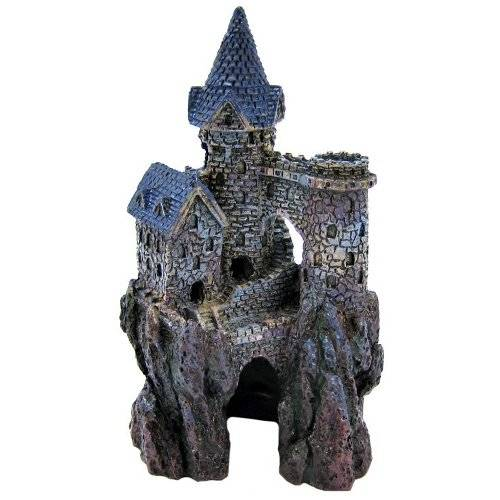 Castelo magician pequeno decora o de aqu rios tiendanimal for Harry potter fish tank