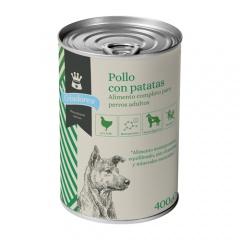 Alimento húmido para cães Criadores frango com batatas