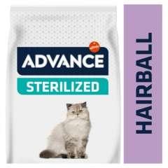 Ração para gatos esterilizados Advance Sterelised Hairball