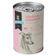 Comida húmida para cães idosos Criadores de javali com mirtilo