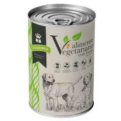 Alimento húmido vegetariano com frutas para cães Criadores