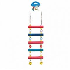 Escada de madeiras para papagaios