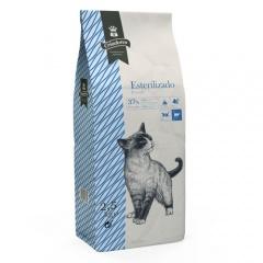 Ração para gatos esterilizados Criadores com peixe