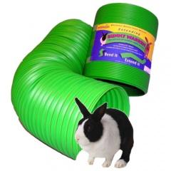 Túnel extensível para furões e roedores