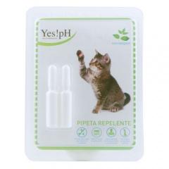 Pipeta repelente de insetos para gatos Yes!pH