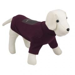 Camisola para cães NYC Collection bordô