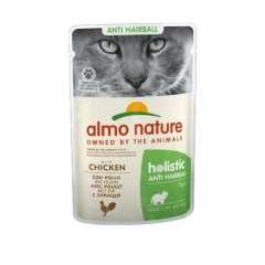 Almo Nature Anti Hairball frango para gatos