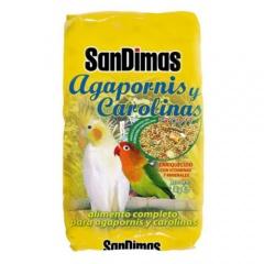 Comida para agapornis e calopsitas SanDimas