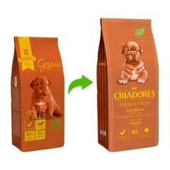 Ração Criadores Grain Free Peru para cachorros