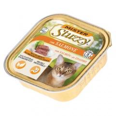 Comida húmida para gatos Mister Stuzzy salmão