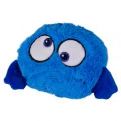 Peluche bola saltitante azul