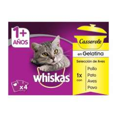 Pack Whiskas Casserole Aves
