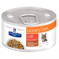 Hill's Urinary Care c/d Stress Estufado para gatos