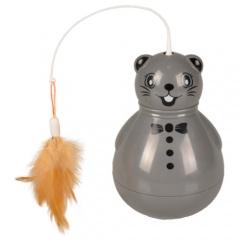 Brinquedo cambaleante Rato para gatos