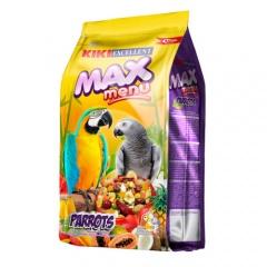 KIKI MAX MENU Papagaios e Caturritas