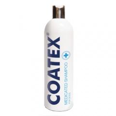 Coatex champô medicado para tratamento da pele cães