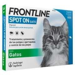 Frontline Spot On gatos protecção total