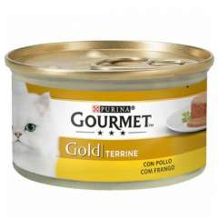 Gourmet terrine frango para gatos
