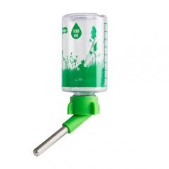 Bebedor garrafa com sistema anti-gotejo para roedores e furões