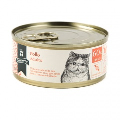 Alimento húmido para gatos Criadores Adulto de frango