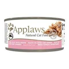 Applaws - Alimento fresco em latas Presentación Filete de atun e camarões
