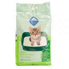 Areia aglomerante natural para gatos TK-Pet