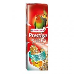 Sticks para periquitos grandes e caturras Versele Laga Prestige frutas exóticas
