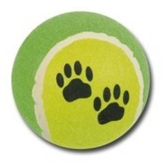 Bola de ténis grande para cães