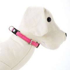 Coleira para cães MacLeather Star Rosa
