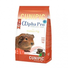 Cunipic Alpha Pro Guinea Pig ração para porquinhos-da-índia Grain Free