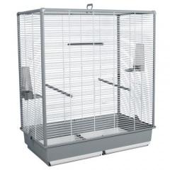 Gaiola de cria para pássaros desmontável mediana