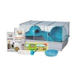 Kit de iniciação para hamsters simples e muito prático