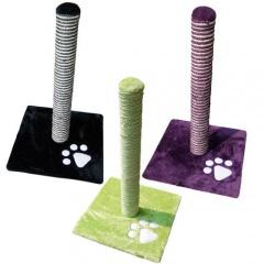 Arranhador poste arranhado para gatos em três cores