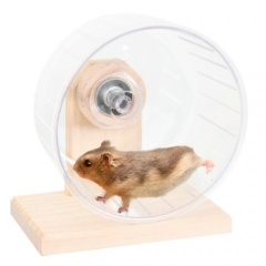 Roda de exercício para roedores Bogie