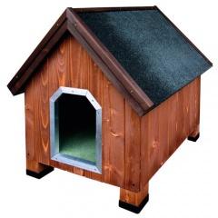 Casota de madeira para cães Alpine Madeira