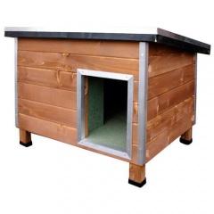 Casota robusta de madeira para cães Nevada Madeira