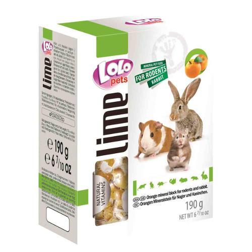 Lolo Pets Bloco Mineral XL para roedores
