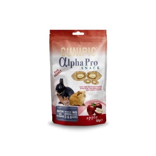 Cunipic Alpha Pro Snack Apple para roedores